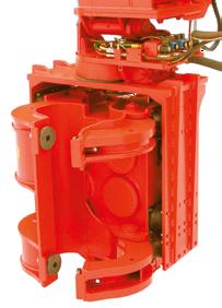 excavator-mounted vibrator