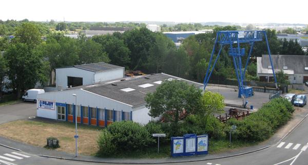 Société PAJOT située à 10mn d'Angers