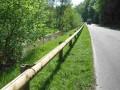 Glissiere de securité bois