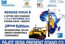 Invitation PhotoVOLTAICA maroc_mai2016