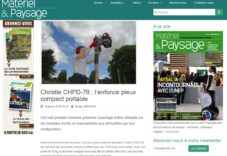 Pajot le sp cialiste du battage vibrofon age v rinage for Materiel et paysage