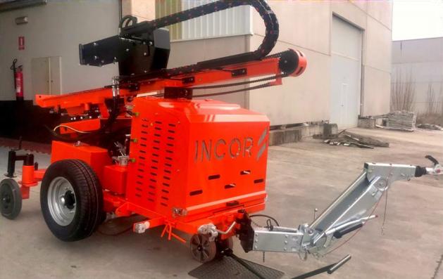 Sonnette de battage hydraulique sur roues INCOR H90R-2000